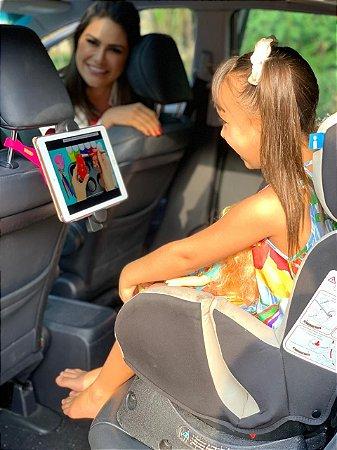 GEKKOPAD - Suporte para Tablet,celular e Câmeras - ROSA + KIT SELFIE NO ESPELHO DE BRINDE