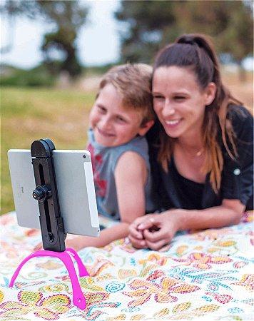 GEKKOPAD - Suporte para Tablet,celular e Câmeras - ROSA