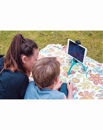 GEKKOPAD - Suporte para Tablet e Câmeras - AZUL  – LANÇAMENTO