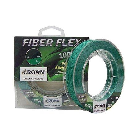 LINHA CROWN FIBER FLEX 4X 100 METROS