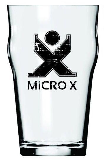 Copo Half Pint de Vidro Micro X 285ml
