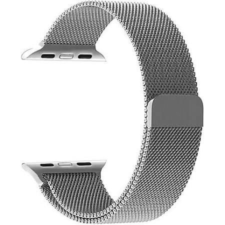 6959a089483 Pulseira Estilo Milanese Aço Inoxidável Apple Watch Series 3   2   1 ...