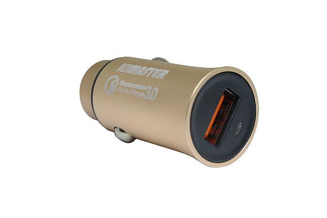Carregador Veicular Universal USB Turbo 2.4A - CV300