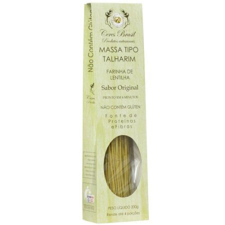 Talharim de lentilha sabor original