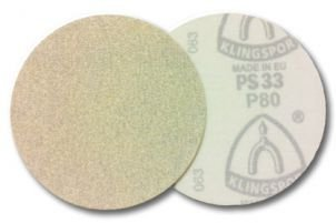 DISCO LIXA VELCRO KLINGSPOR SF PS33CK 125mm  80 c/ 10 pcs