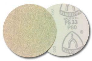 DISCO LIXA VELCRO KLINGSPOR SF PS73BWK 125mm 320 c/ 10 pcs