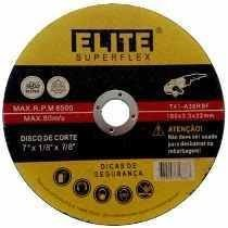 "DISCO DE CORTE FINO 7"" X 1,6MM X 22MM C/ 25PCS"