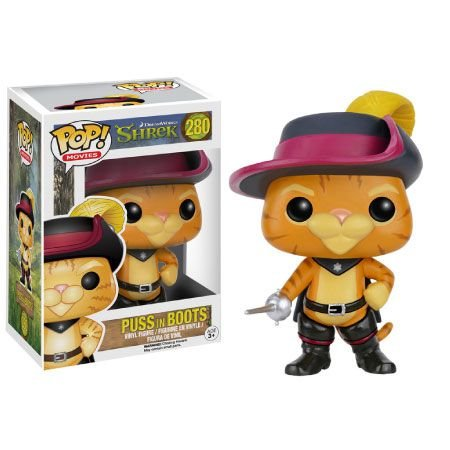 Puss in Boots (Gato de Botas) - Shrek - Funko Pop
