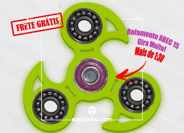 Fidget Hand Spinner - Veloster Verde Neon