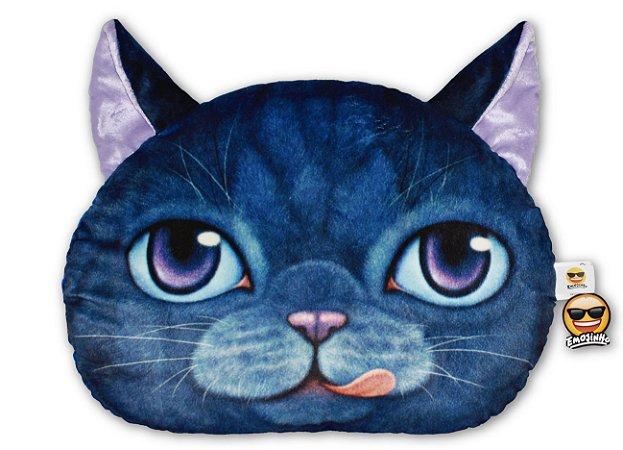 Almofada Pet Gato - Azul