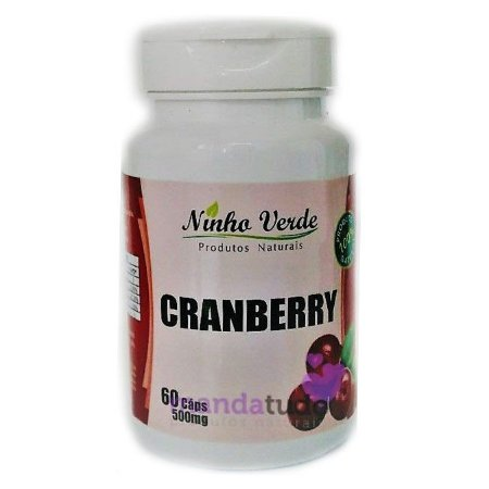 Cranberry 500mg 60 caps - Ninho Verde