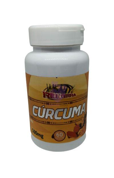 Cúrcuma 500 mg 60 cápsulas - Rei Terra