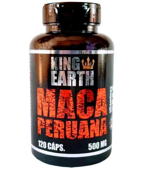 Maca Peruana 500 mg 120 caps - Rei Terra