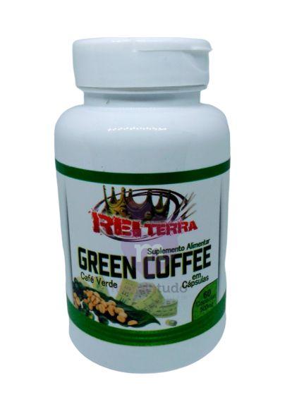 Café Verde 500 mg 60 caps - Rei Terra