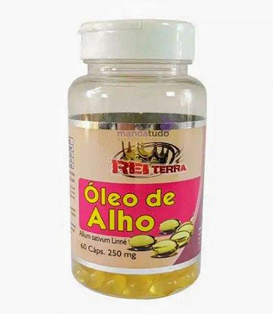 Óleo de Alho 250 mg 60 caps - Rei Terra