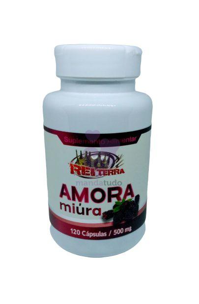 Amora Miura 500mg 120 cáps - Rei Terra