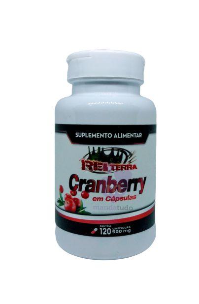 Cranberry 500mg 120 caps - Rei Terra