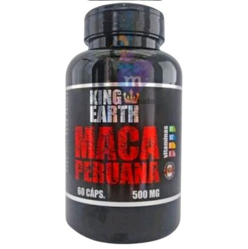 Maca Peruana 500 mg 60 caps - Rei Terra