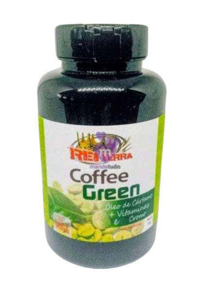 Coffee Green 1000mg 60 cáps - Rei Terra