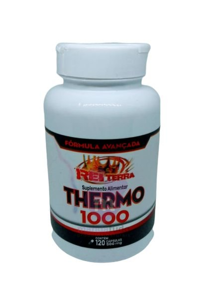 Termogênico Thermo 1000 500 mg 120 caps - Rei Terra
