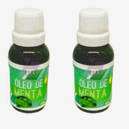 Óleo de Menta 30 ml Kit com 2 - E.P.A. Naturais