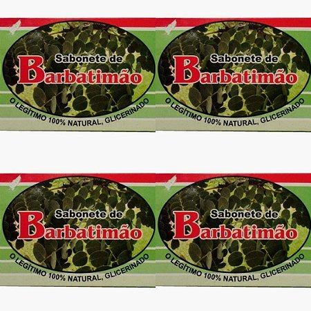 Sabonete Glicerinado de Barbatimão - Kit com 4