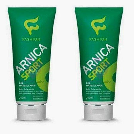 Gel Massageador de Arnica 200g - Kit com 2 - Fashion