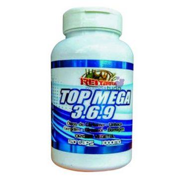 Top Mega 3.6.9. 1000mg 120 caps - Rei Terra - Melhor Preço