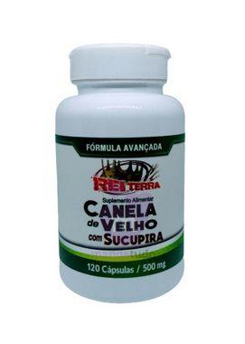 Canela de Velho com Sucupira 500 mg 120 cáps - Rei Terra Melhor Preço