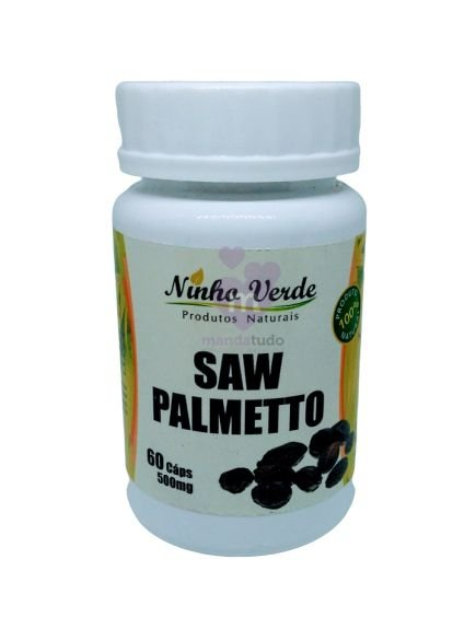 Saw Palmetto 500mg 60 caps - Ninho Verde