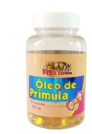 Óleo de Prímula 500 mg 120 caps - Rei Terra