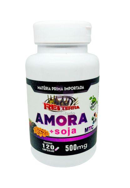 Amora Miura com Soja 500 mg 120 caps - Rei Terra
