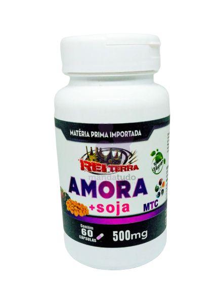 Amora Miura com Soja 500 mg 60 caps - Rei Terra