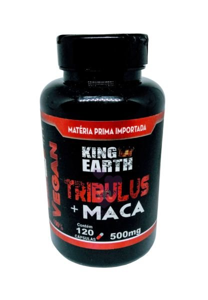 Tribulus com Maca VEGAN 500 mg 120 caps - Rei Terra