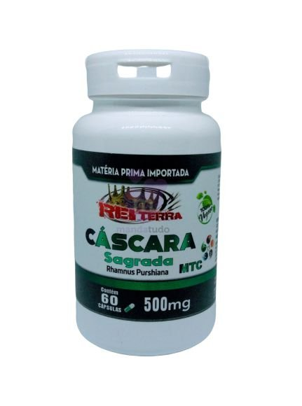 Cáscara Sagrada VEGAN 500 mg 60 caps - Rei Terra