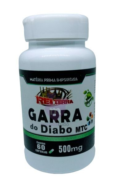 Garra do Diabo VEGAN 500 mg 60 caps - Rei Terra