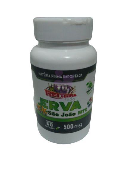 Erva de São João 500 mg 60 caps - Rei Terra