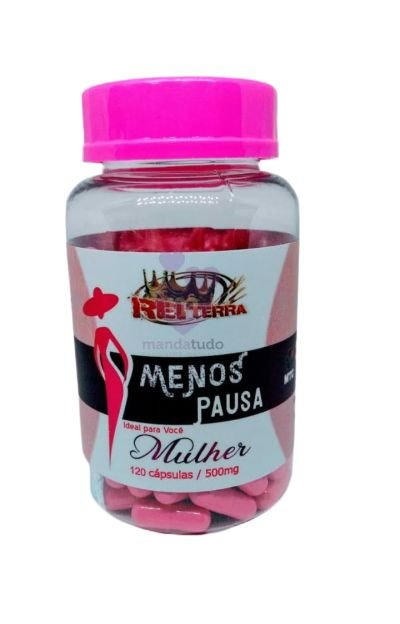 Menos Pausa 500 mg 120 caps - Rei Terra
