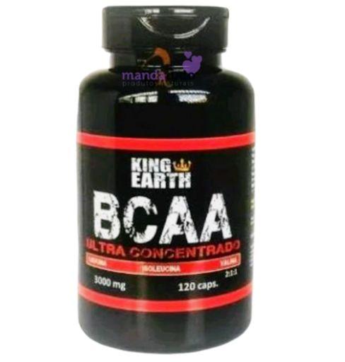 BCAA 750mg 120 cáps - Rei Terra