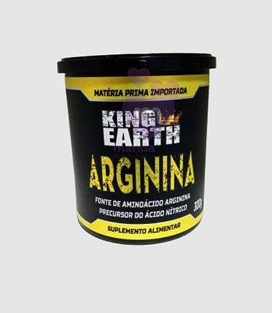 Arginina King Earth 300g - Rei Terra