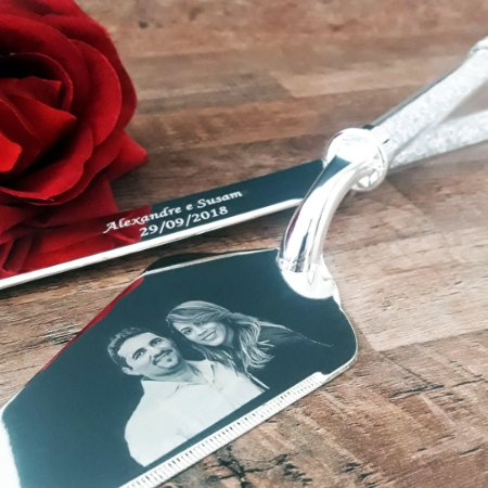 Espátula personalizada para casamento - Madre