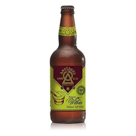 Cerveja Artesanal Antidoto Belgian Witbier 500ml