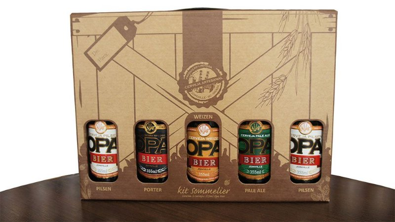 Kit Opa Bier 5 Cervejas 355ml