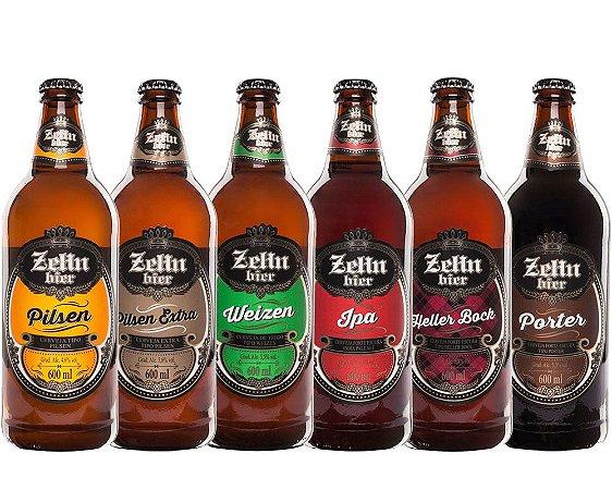 Kit Cerveja Artesanal Zehn Bier 6 Cervejas