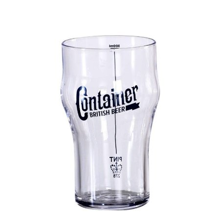 Copo de Cerveja Artesanal Container Half Pint 300ml