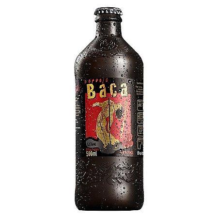 Cerveja Artesanal Coruja Baca Amber Lager 500ml