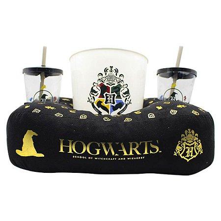 Almofada Porta Pipoca Hogwarts - Harry Potter