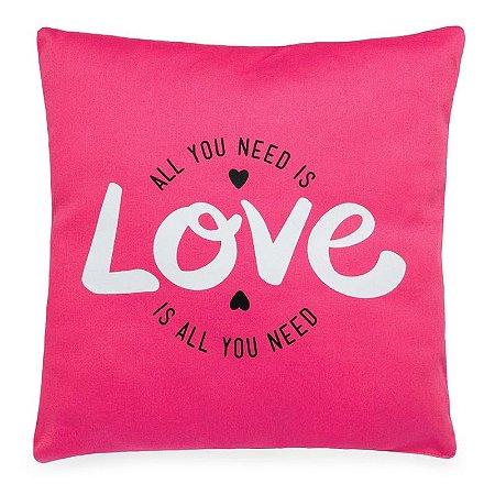 Almofada All We Need is Love