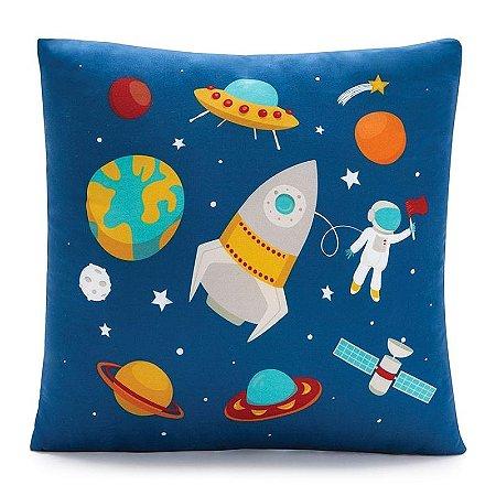 Almofada Foguete no Espaço
