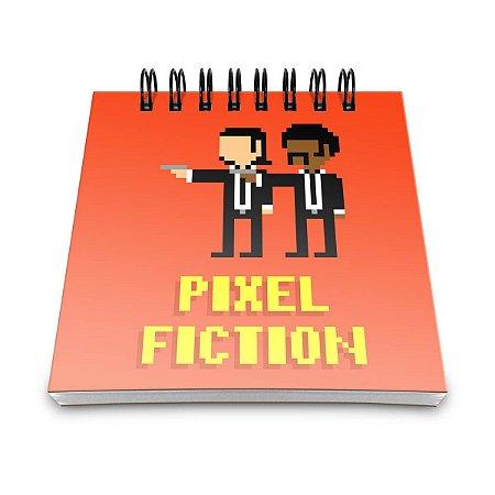 Bloco de Anotações Pulp Fiction Pixel
